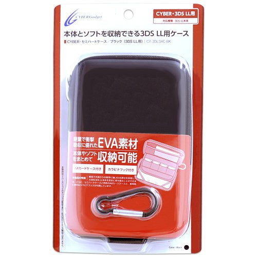 Image 1 for Semi Hard Case for 3DS LL (Black)