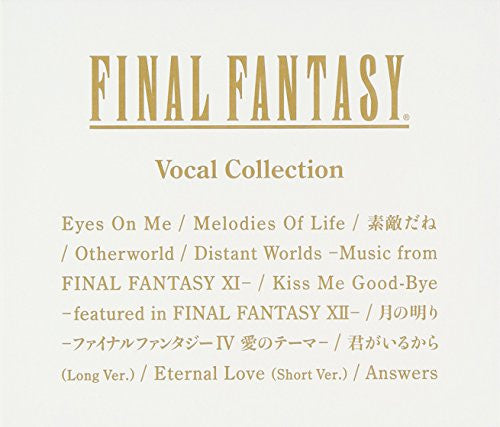 Image 1 for FINAL FANTASY Vocal Collection