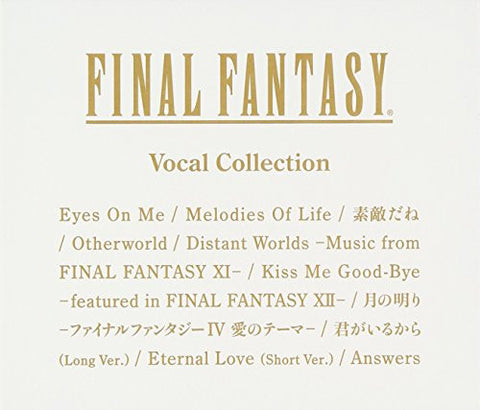 Image for FINAL FANTASY Vocal Collection