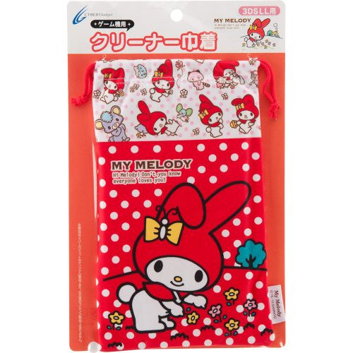 Image 1 for My Melody Pouch for 3DS LL (Red)