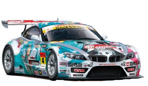 Image 1 for GOOD SMILE Racing - Vocaloid - Hatsune Miku - Itasha - 2011 Hatsune Miku GOOD SMILE Racing BMW Z4 GT3 - 1/24 - BMW Z4 GT3 - Round 3 (Sepang) (Fujimi)