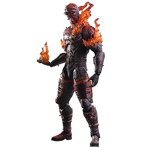 Image 1 for Metal Gear Solid V: The Phantom Pain - Man On Fire - Play Arts Kai (Square Enix)