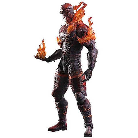 Image for Metal Gear Solid V: The Phantom Pain - Man On Fire - Play Arts Kai (Square Enix)