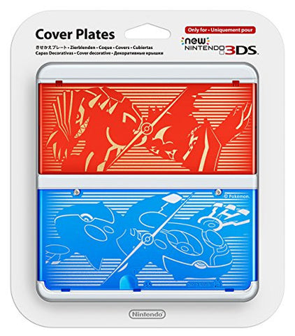 Image for New Nintendo 3DS Cover Plates No.040 (Pokemon Omega Ruby / Alpha Sapphire)