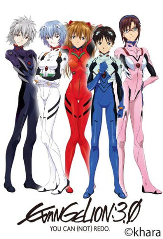 Evangelion Shin Gekijouban - Wall Calendar - Neon Genesis Evangelion 3.0 You Can (Not) Re-do - 2013 (Ensky)[Magazine]