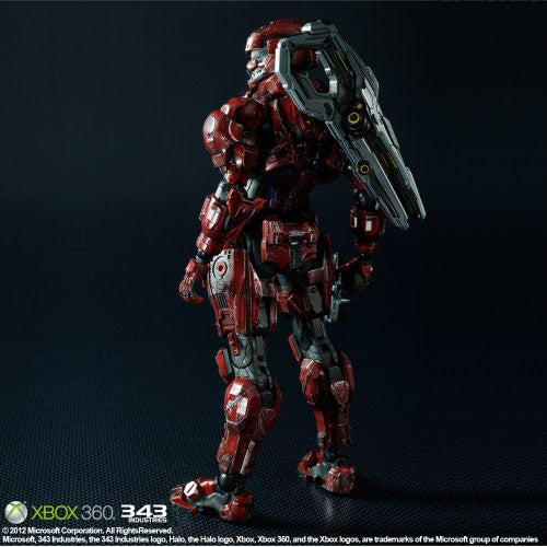 Image 5 for Halo 4 - Spartan Solider - Play Arts Kai - Red (Square Enix)