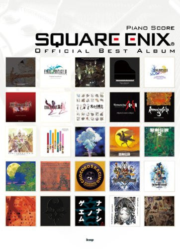 Image 1 for Square Enix Best   Piano Solo Score Book