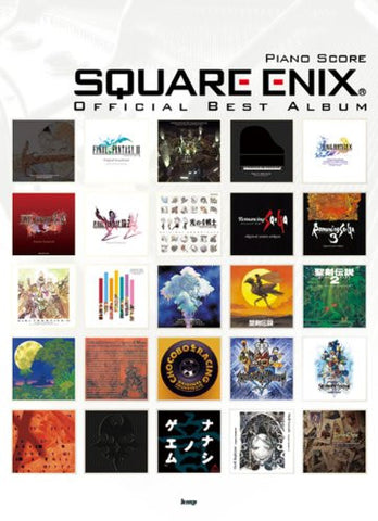 Image for Square Enix Best   Piano Solo Score Book