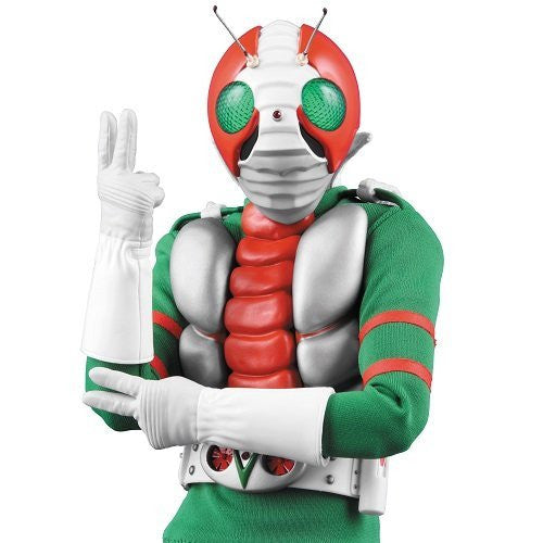Image 3 for Kamen Rider V3 - Real Action Heroes No.448 - 1/6 - Renewal Edition (Medicom Toy)