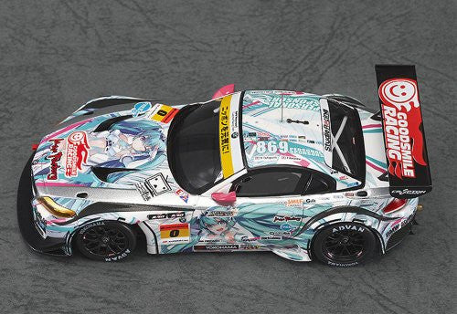 Image 4 for GOOD SMILE Racing - Vocaloid - Hatsune Miku - Itasha - 2012 Hatsune Miku GOOD SMILE Racing BMW Z4 GT3 - 1/43 - BMW Z4 GT3 - 2012 Season Opening Version (Max Factory)