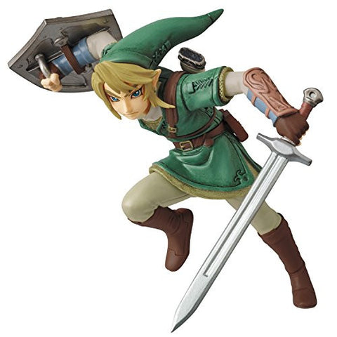 Image for Zelda no Densetsu: Twilight Princess - Link - Ultra Detail Figure No.312 (Medicom Toy)