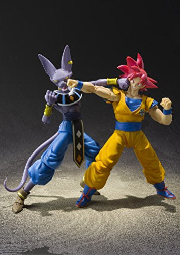 Image 3 for Dragon Ball Z: Kami to Kami - Son Goku SSJ God - S.H.Figuarts (Bandai)