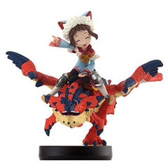 Monster Hunter Stories - Liolaeus - Rider - Amiibo - Girl (Capcom)