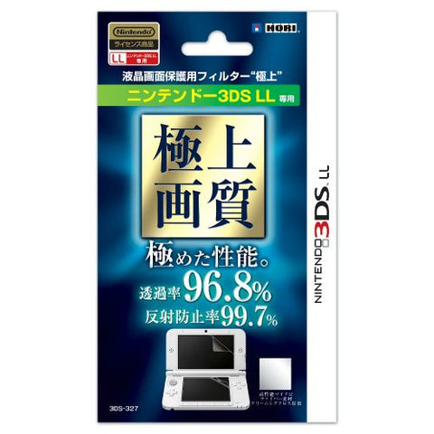 "Image for Nintendo 3DS LL LCD Screen Protection Filter ""High Quality"""