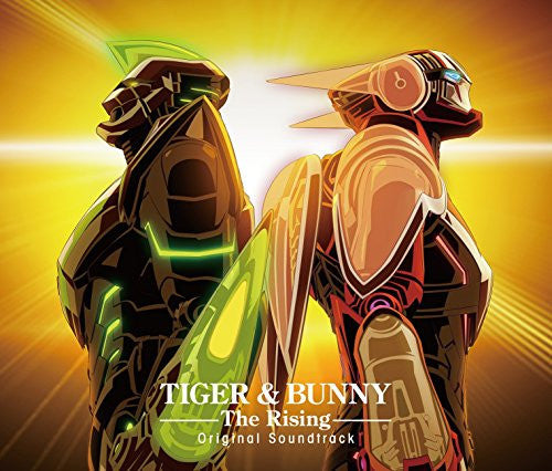 Image 1 for TIGER & BUNNY -The Rising- Original Soundtrack