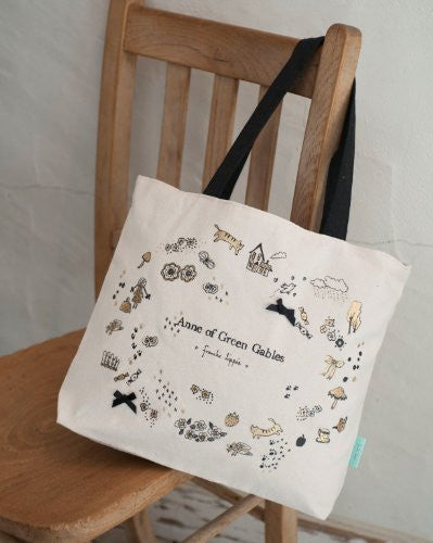 Anne Of Green Gables    Japan Book And Tote Bag