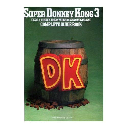 Image 1 for Donkey Kong Country 3 Complete Guide Book / Snes