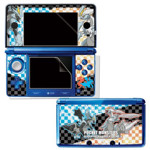 Image 2 for Pocket Monster Protection Filter for 3DS (Black Kyurem & White Kyurem Version)
