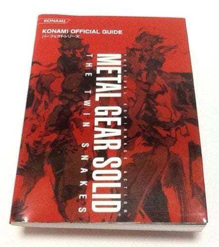 Image 1 for Metal Gear Solid The Twin Snakes Konami Official Perfect Guide Book / Gc