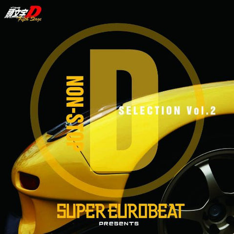 Image for SUPER EUROBEAT presents Initial D Fifth Stage NON-STOP D SELECTION Vol.2