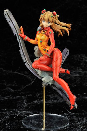 Image 3 for Evangelion Shin Gekijouban - Souryuu Asuka Langley - 1/8 - Plug Suit Test Type Ver. (Alter)
