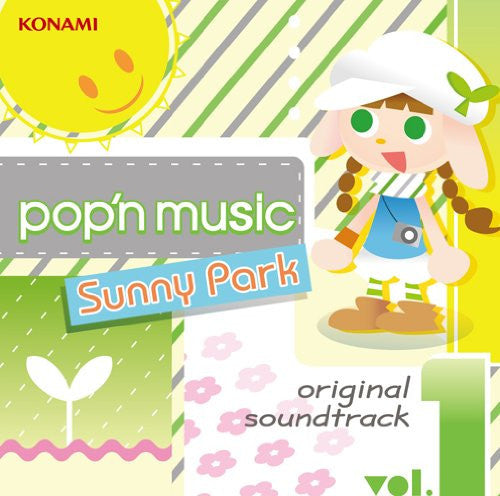Image 1 for pop'n music Sunny Park original soundtrack vol.1