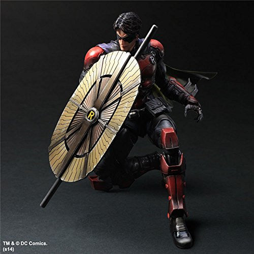 Image 7 for Batman - Batman: Arkham Origins - DC Universe - Robin - Play Arts Kai (Square Enix)