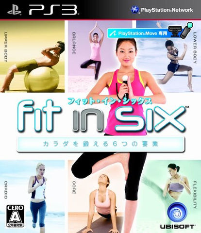 Image for Fit in Six: Carada o Kitaeru 6-tsu no Youso