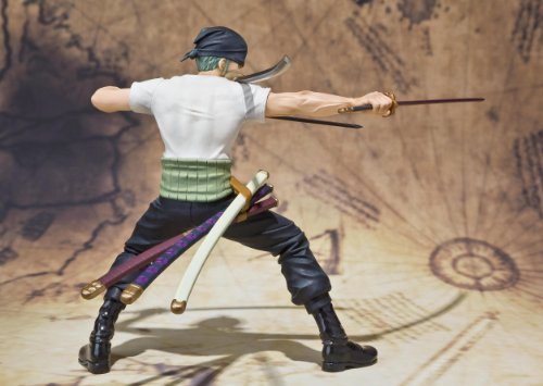 Image 5 for One Piece - Roronoa Zoro - Figuarts ZERO - Battle ver. (Bandai)