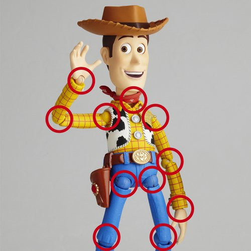 Image 8 for Toy Story - Woody - Revoltech - Revoltech SFX #010 (Kaiyodo)
