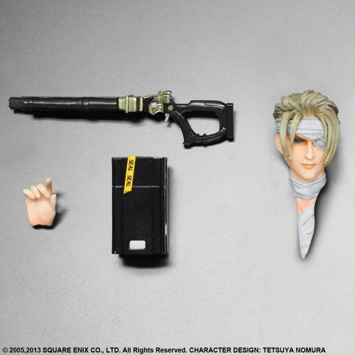 Image 6 for Final Fantasy VII: Advent Children - Rufus Shinra - Play Arts Kai (Kotobukiya, Square Enix)
