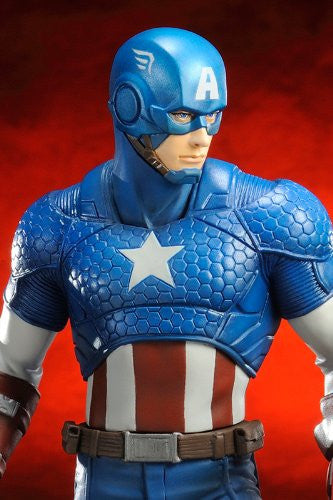 Image 7 for The Avengers - Captain America - ARTFX+ - Marvel The Avengers ARTFX+ - 1/10 (Kotobukiya)
