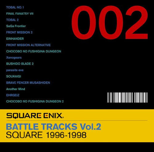 Image 1 for SQUARE ENIX BATTLE TRACKS Vol.2 SQUARE 1996-1998