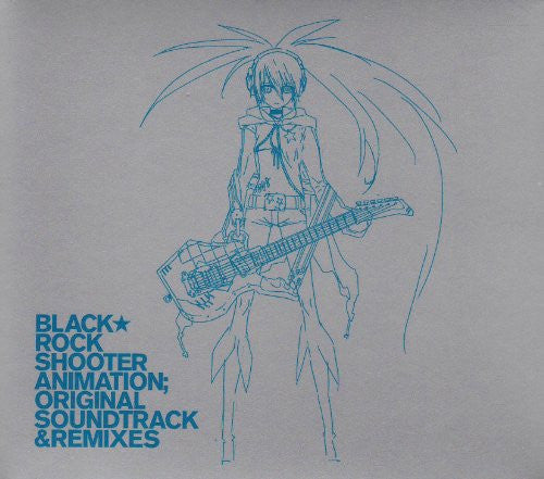 Image 1 for BLACK★ROCK SHOOTER ANIMATION; ORIGINAL SOUNDTRACK & REMIXES
