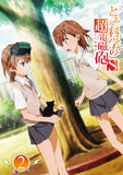 Thumbnail 2 for To Aru Kagaku No Cho Denjiho S / A Certain Scientific Railgun S Vol.2 [Limited Edition]