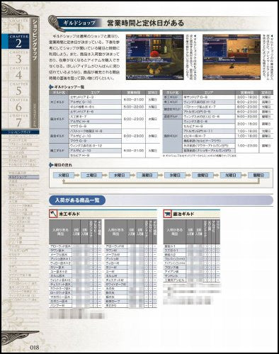 Image 3 for Final Fantasy Xi Guild Master Guide Ver.101207