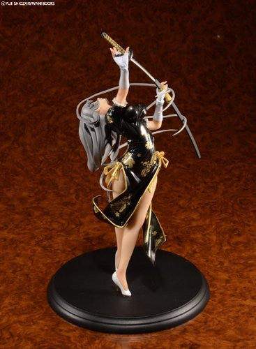 Image 3 for Ikki Tousen - Chouun Shiryuu - 1/7 - China Dragon Dress Black ver. (BEAT)