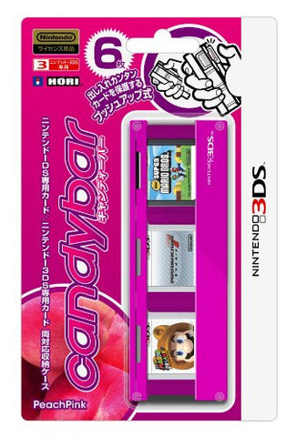 Candybar for Nintendo 3DS [Peach Pink Version]
