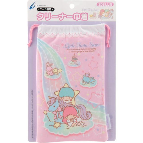 Image for Little Twin Stars Pouch for 3DS LL (Pink)