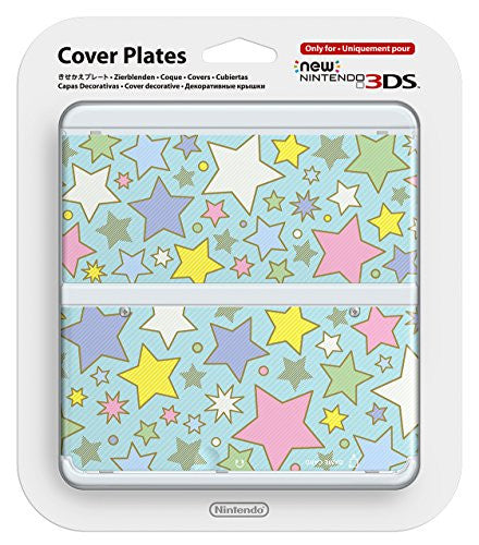 Image 1 for New Nintendo 3DS Cover Plates No.064 (Colourful Star)