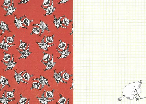Image 4 for Moomin Diary 2013 Cover Design By Nimes Little My X Red Border Book