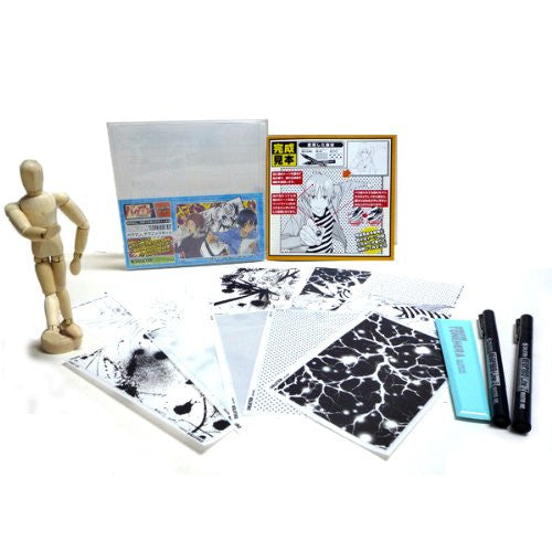 Image 1 for Bakuman - Manga Drawing Set - Technique Kit