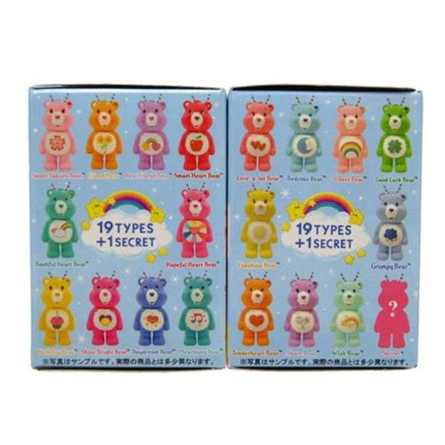 Image 2 for Care Bears - Grumpy Bear - Care Bears Mini Keychain Collection - Keyholder (Cube)