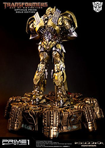 Image 9 for Transformers: Lost Age - Convoy - Museum Masterline Series MMTFM-07GL - Knight Edition, Gold Edition (Prime 1 Studio)