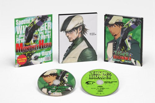 Image 2 for Tiger & Bunny Special Edition Side Tiger [Blu-ray+CD Limited Edition]