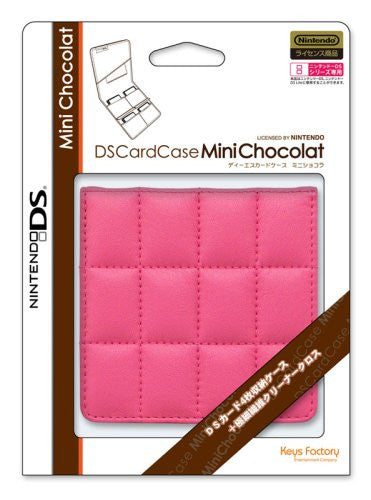 Image 2 for DS Card Case Mini Chocolat (Raspberry)