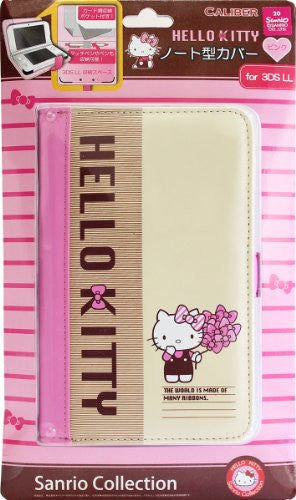 Image 1 for Hello Kitty Note Cover for 3DS LL (Pink)