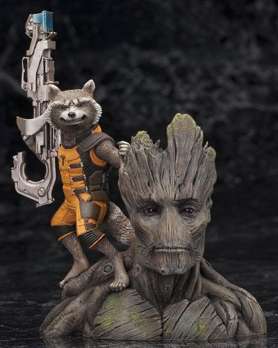 Image 4 for Guardians of the Galaxy - Groot - Rocket Raccoon - ARTFX+ - Guardians of the Galaxy ARTFX+ - 1/10 (Kotobukiya)