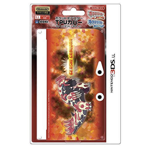 Pokemon TPU Cover for 3DS LL (Genshi Groudon)