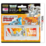 Thumbnail 1 for Pocket Monster Card Case 6 Seal Set for Nintendo 3DS (White Kyurem Version)